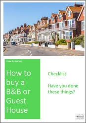 How to Buy a B&B Checklist Cover