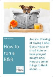 How to run a B&B