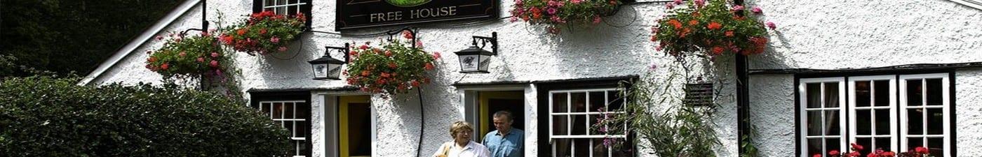Pub mortgage - outside view of pub