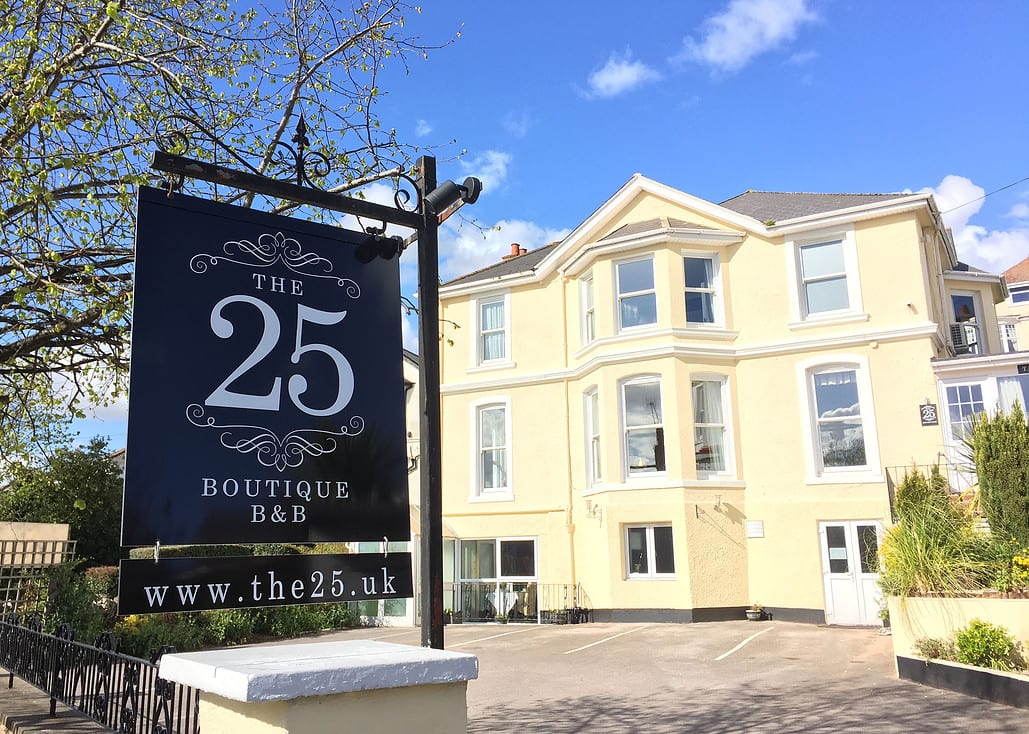 The best B&B in the world and it's in the English Riviera