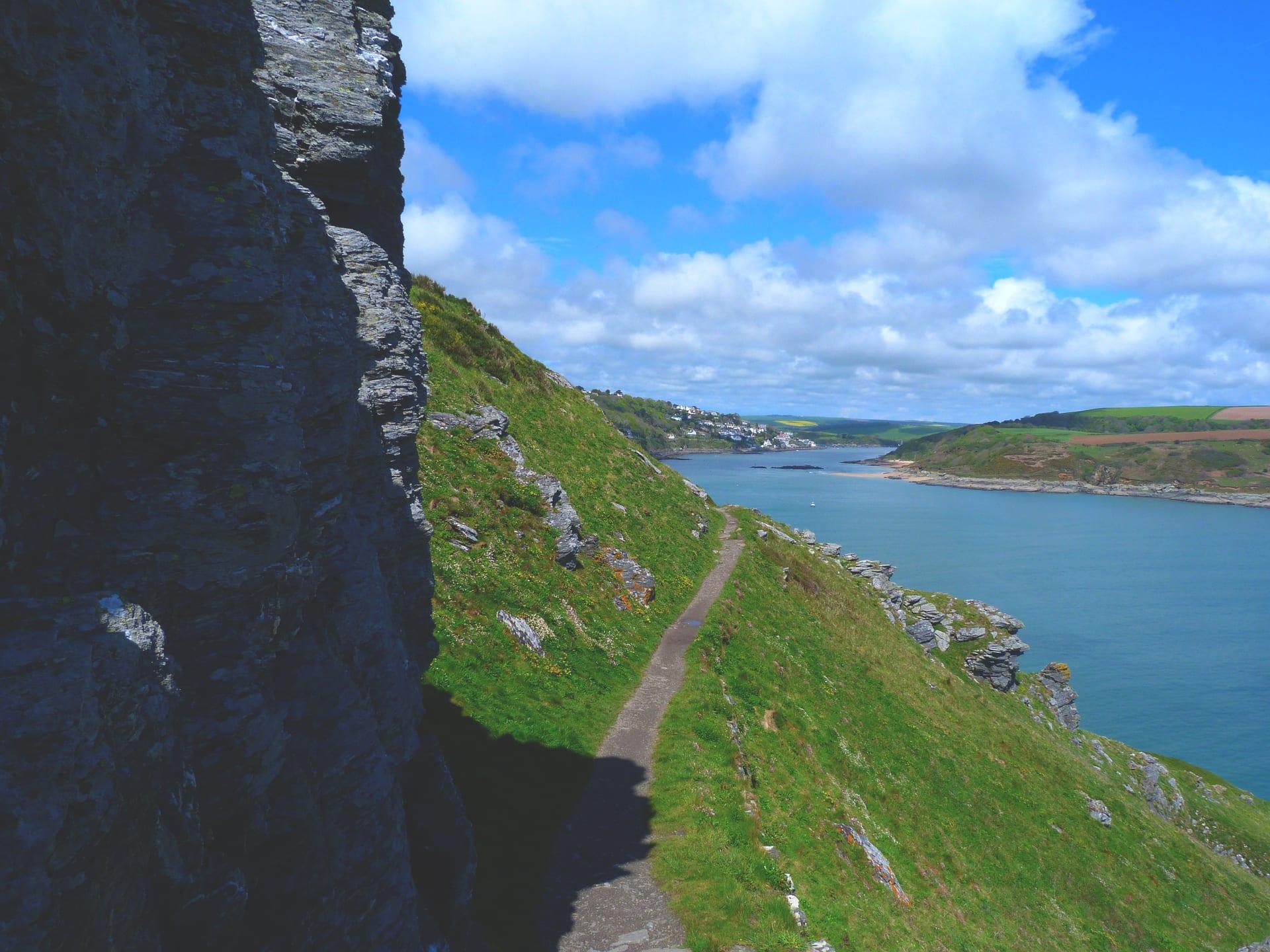 British coastal path walking and guest house holidays