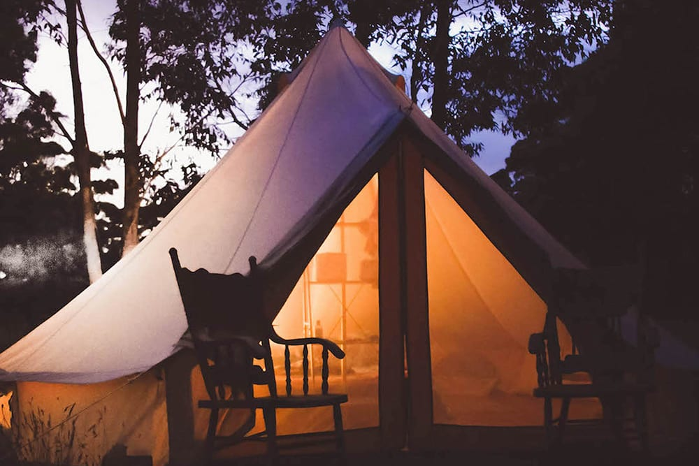 The appeal of the British glamping holiday